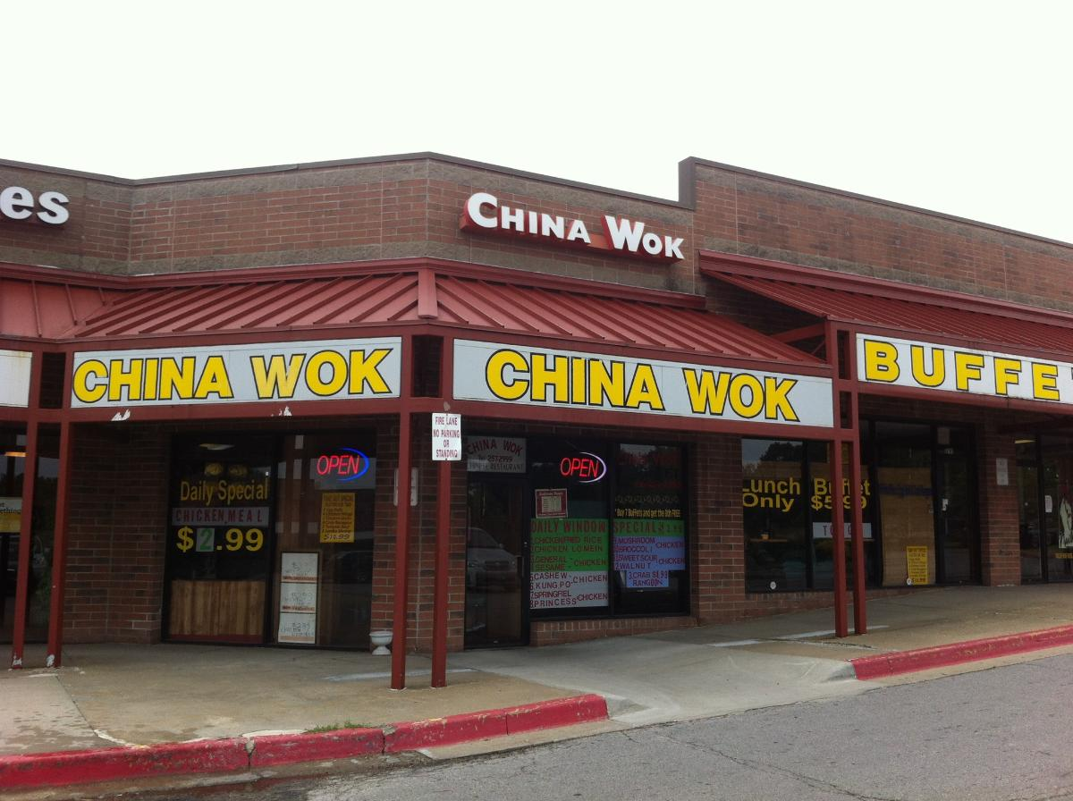 China Wok Chinese Delivery Restaurant Independence MO Buffet - Map Of Eastern Us Highways